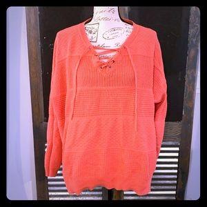 🎈5/$30 Bundled🎈 Coral sweater, like new